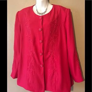 Dresses & Skirts - Hot pink skirt suit, size 16
